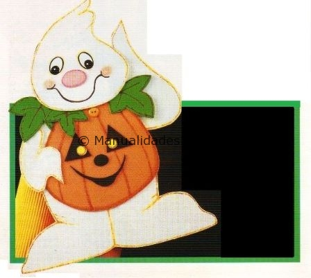 Adorno calabaza para halloween