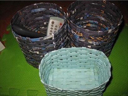 DIY-cestos-de-papel-de-revista