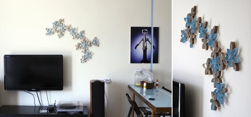 decoracion-de-pared-materiales-reciclados-DIY