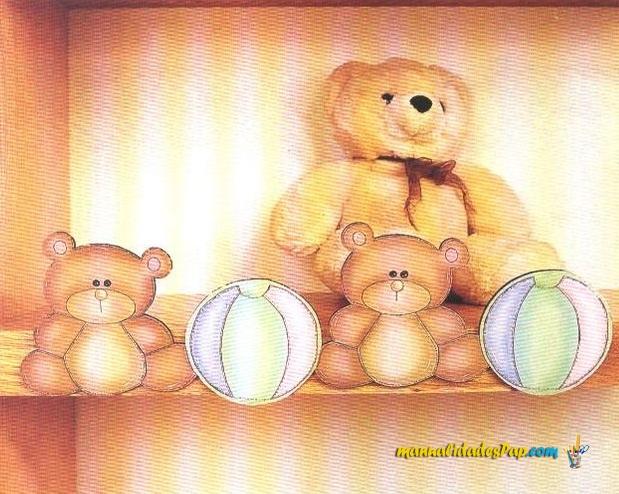 cenefa para decorar dormitorio de bebe